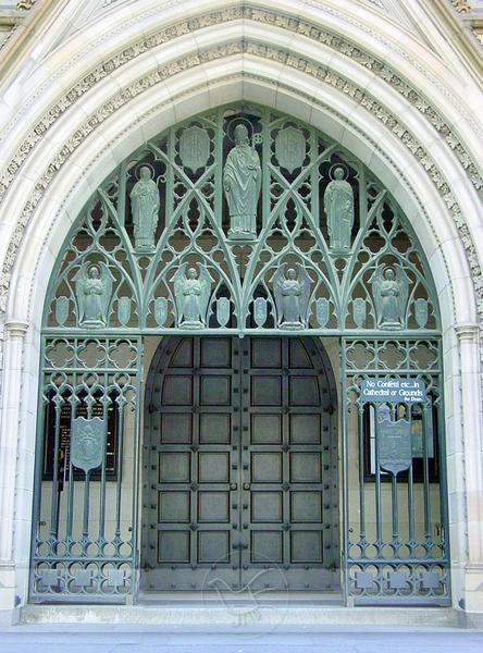 聖派翠克教堂門外
