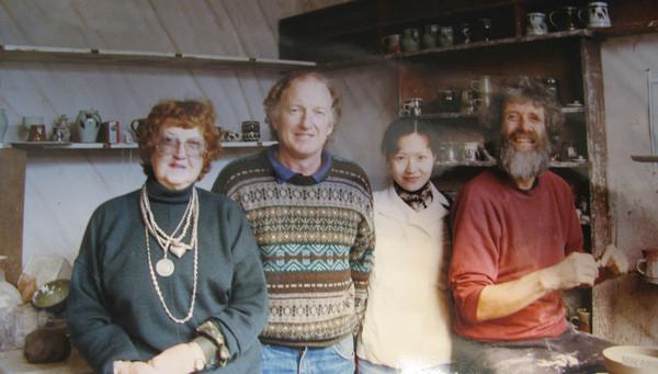 host、她兒子、我、陶藝藝術家.jpg