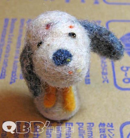 羊毛氈狗狗