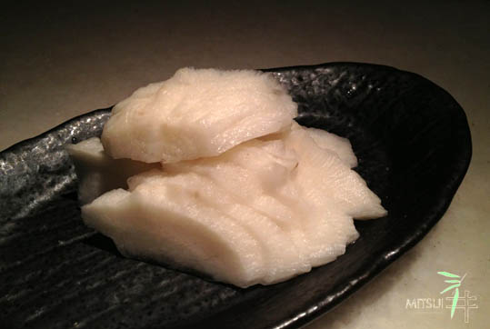 三井-前菜蘿蔔