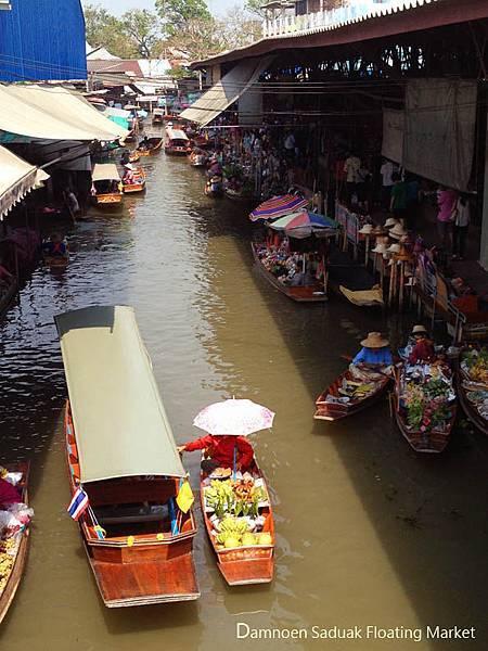 Damnoen Saduak Floating Market 0