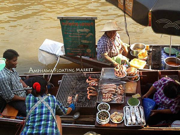 Amphawa Floating Market food 01