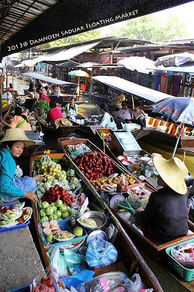Damnoen Saduak Floating Market03