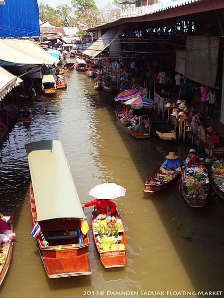 Damnoen Saduak Floating Market08