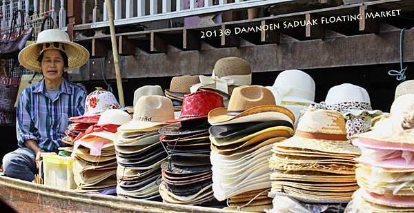 Damnoen Saduak Floating Market帽