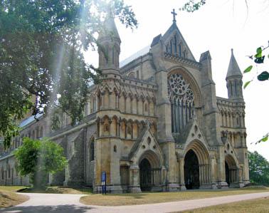 ST Albans Abbly教堂