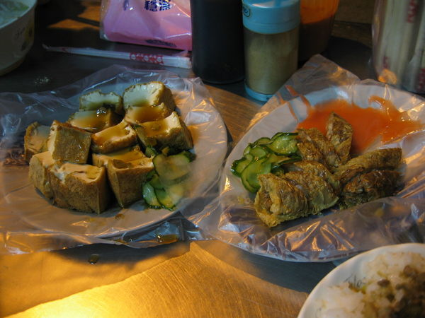 炸豆腐+雞卷+豬腳