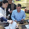 20120212櫻花茶會-洺盛-鮮玫瑰泡茶-1