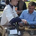 20120212櫻花茶會-洺盛-鮮玫瑰泡茶-3