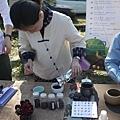 20120212櫻花茶會-洺盛-鮮玫瑰泡茶