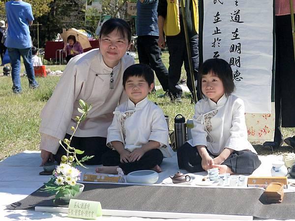 20120212櫻花茶會-小茶人-1