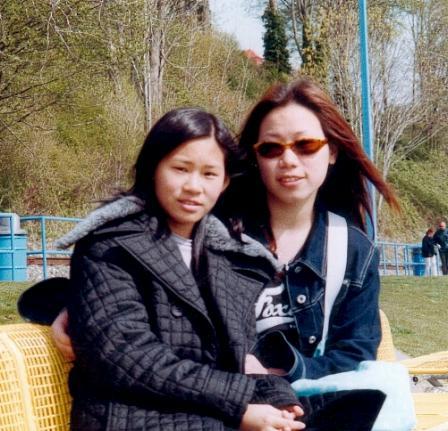 我和姊姊在whiterock [2001 summer]