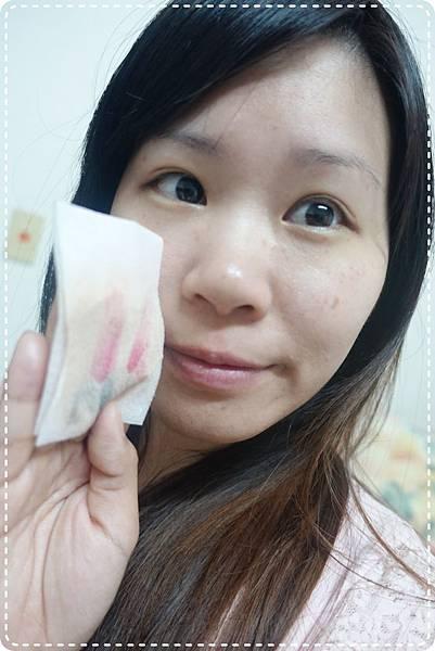使用後肌膚穩定