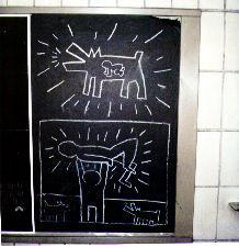 Subway Drawing, Feb. 1, 1982