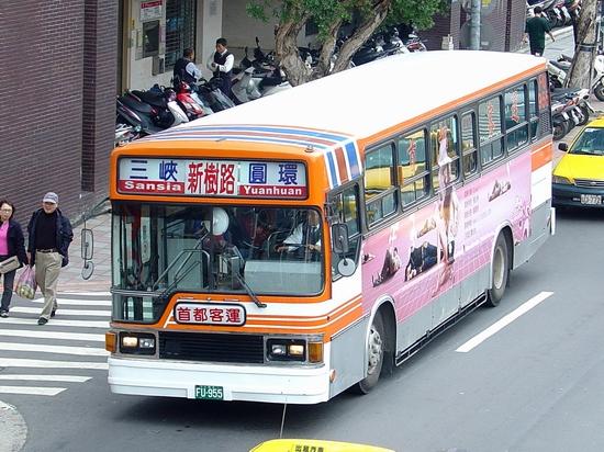 首都客運@三峽-圓環
