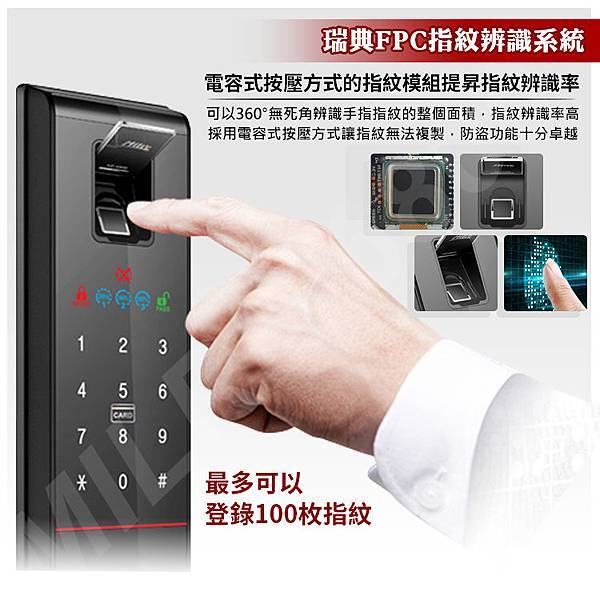 MI-6800 FPC指紋