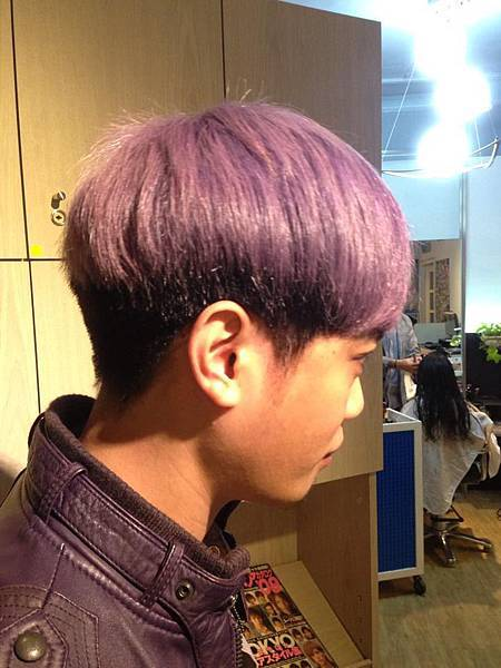 粉紫特殊色