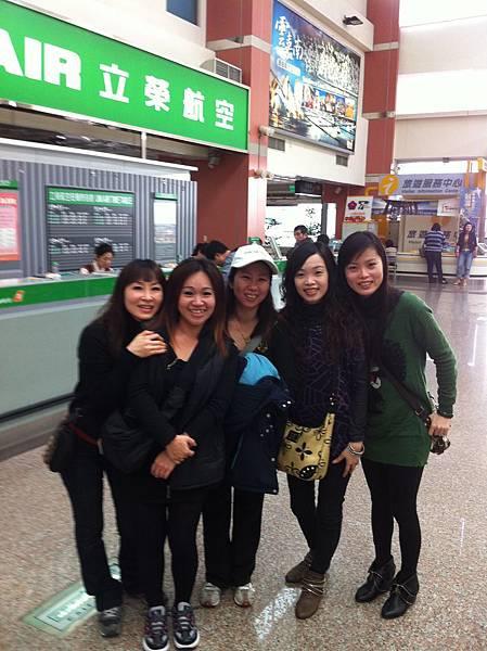 台南機場..