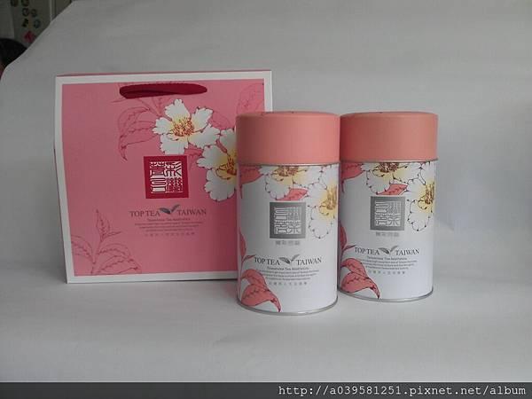 菁彩台灣金萱茶禮盒Jin-Xuan-Oolong Tea