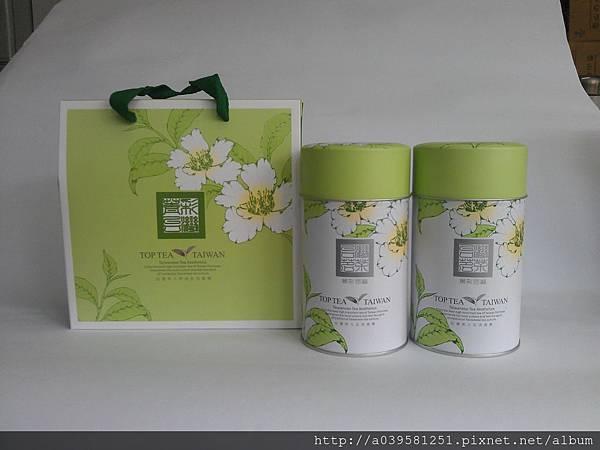 菁彩台灣翠玉茶禮盒Cui-Yu-Oolong Tea
