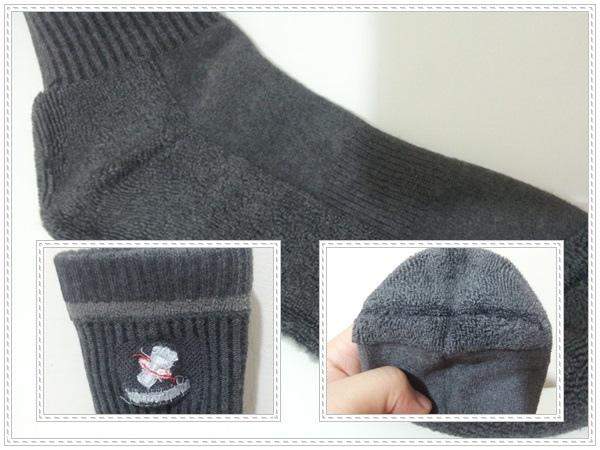UNI-TOP氣墊襪7