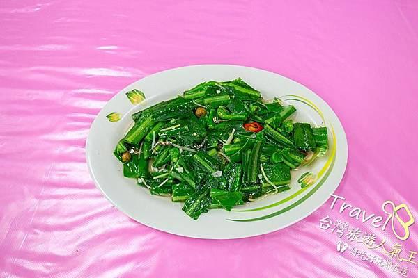 墾丁後壁湖生魚片,邱家海產料理-鮮炒山蘇