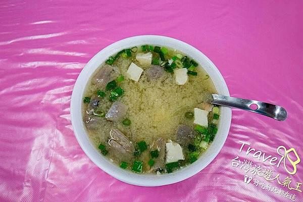 後壁湖海產推薦 |味噌鮮魚湯