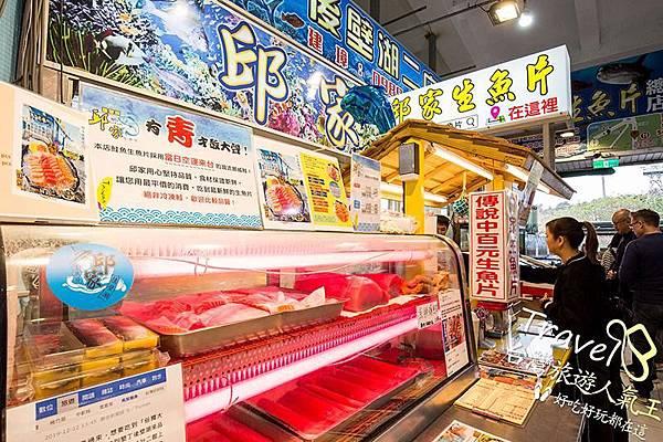 傳說中的後壁湖百元生魚片