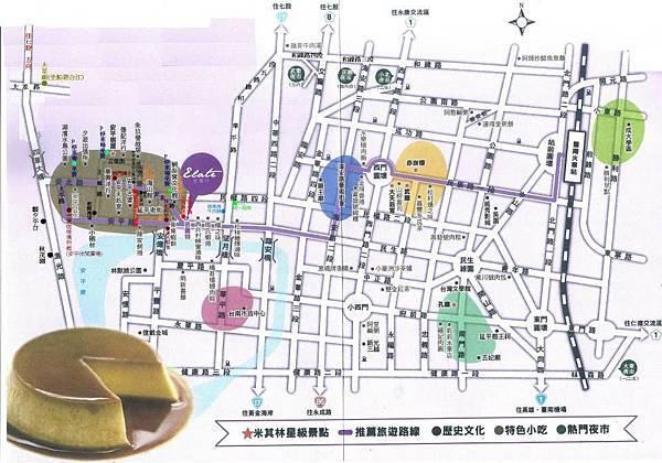 台南旅遊-台南旅遊地圖