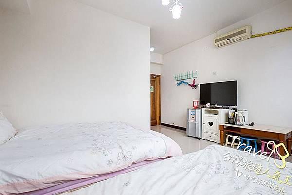 台南民宿-201甜蜜景觀二人套房-內部