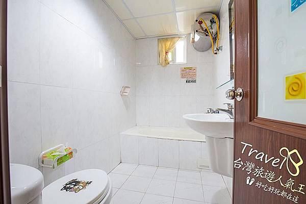 台南民宿-201甜蜜景觀房-廁所