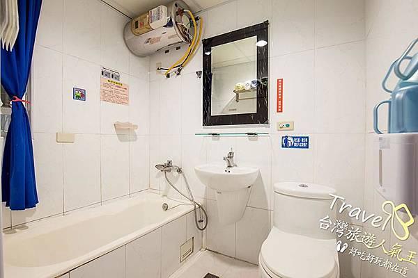 台南民宿-202浪漫四人房-廁所