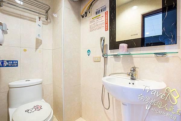 台南民宿-204單人套房-廁所