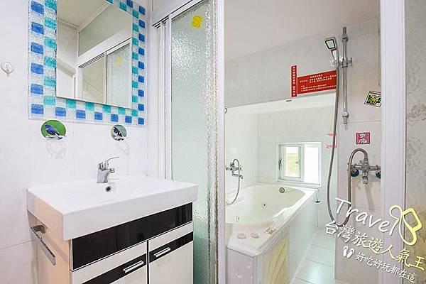 台南民宿-好望角8人套房-民宿衛浴