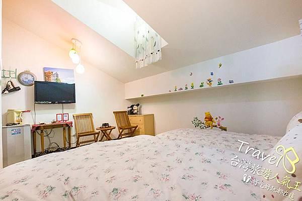 台南民宿-閣樓設計-3人房-民宿設備