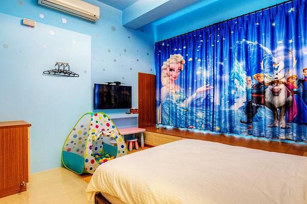童樂園-親子民宿-冰雪雙人房
