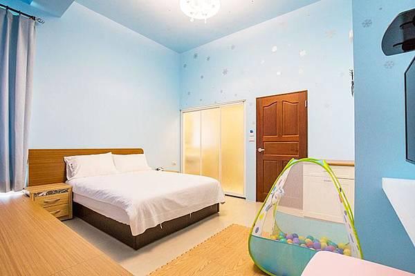 童樂園-親子民宿-雙人房全景