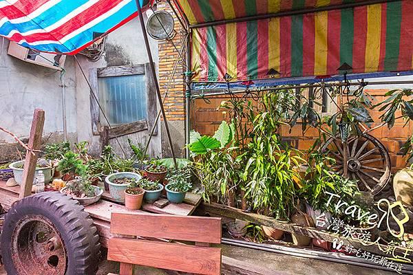 農車-植物-老頭擺客家菜