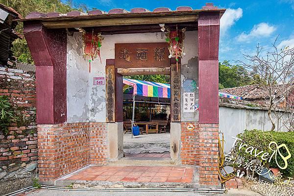 龍潭餐廳-老頭擺-三合院-住宅-門口