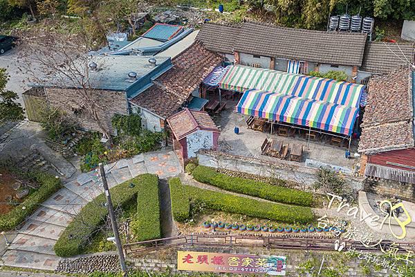 客家菜-桃園美食-老頭擺餐廳-環境空拍