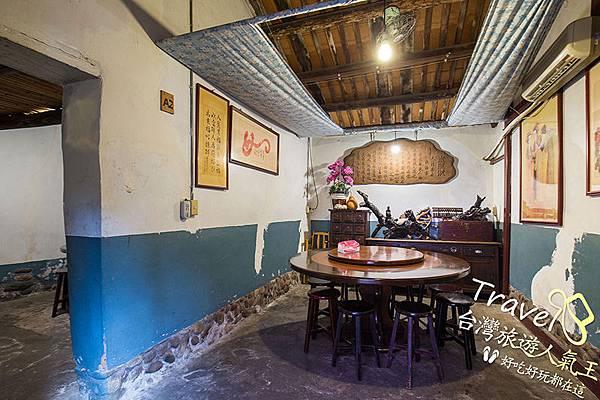 老頭擺-龍潭餐廳-客廳-客家古宅