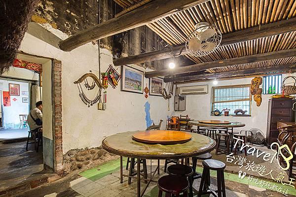 桃園客家菜-餐廳空間-160年古厝裡吃飯