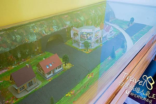 桃園民宿-三坑老爹-背包房2-市景模型