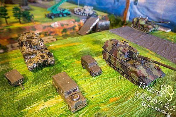 戰車-模型-桃園民宿-三坑老爹