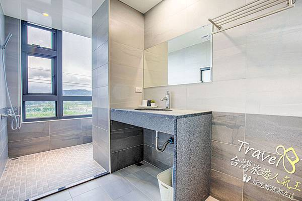衛浴空間-大理石-洗手台-乾淨整潔-BY 安農第五街