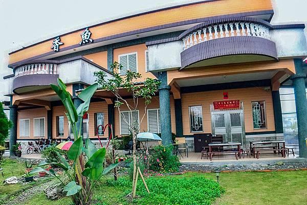香魚之家-民宿外觀-西洋式建築