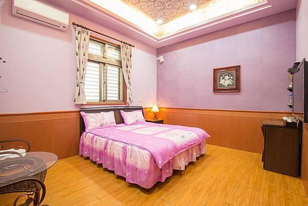 宜蘭民宿_紫亭-雙人房-房間-香魚之家-照片提供