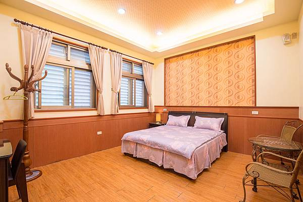 宜蘭民宿_馨雅-雙人房-房間全景-香魚之家-照片提供