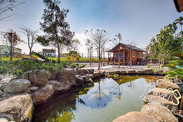 池塘-園區-小黃山客棧