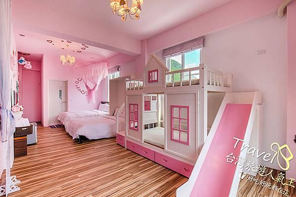 綠島民宿公主房+遊戲床屋 in 室內